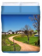 Farm In Gasconade County Mo_dsc4116 Duvet Cover