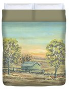 Farm In The Dell Duvet Cover