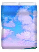 Farm Near San Luis Obispo Duvet Cover