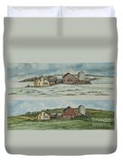 Farm Of Seasons Duvet Cover