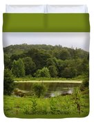 Farm Pond Duvet Cover