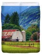 Farm, Randall, Wa Duvet Cover