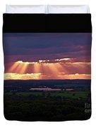 Farm Rays Duvet Cover