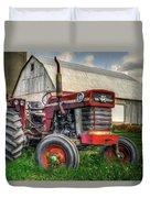 Farm Scene - Painting Duvet Cover
