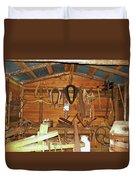 Farm Tools Duvet Cover