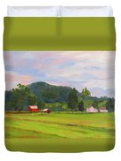 Farm, Washington County Duvet Cover