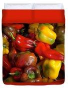 Farmers Market Bounty Duvet Cover