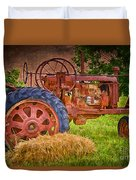 Farming In Hanksville Utah Duvet Cover