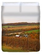 Farming In The Valley Duvet Cover