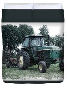 Farming John Deere 4430 Pa 01 Duvet Cover