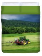 Farming New York State Before The July Storm 02 Duvet Cover