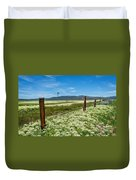 Farmland Scenery Duvet Cover