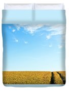 Farmland To The Horizon 1 Duvet Cover