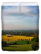 Farmland View Duvet Cover