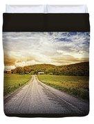 Farmstead Drive Duvet Cover