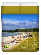 Faro Beach Duvet Cover