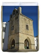 Faro Main Church Bells Tower Duvet Cover