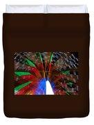 Farris Wheel Light Abstract Duvet Cover