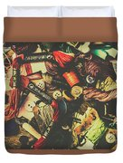 Fashion Designers Desk  Duvet Cover