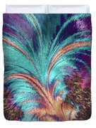 Feather Abstract Duvet Cover