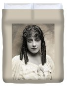 Fashion: Hairstyle, C1910 Duvet Cover