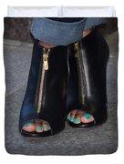 Fashionable Feet Duvet Cover