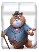 Fat Cat Duvet Cover