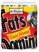 Fats Domino Duvet Cover
