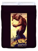 Fay Wray In King Kong 1933 Duvet Cover