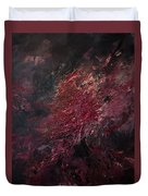 Fear Series, IIi Duvet Cover by Daniel Hannih