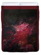 Fear Series, Iv Duvet Cover by Daniel Hannih