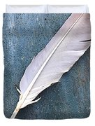 Feather Of A Dove Duvet Cover