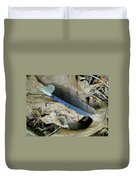 Feather On The Forest Floor Duvet Cover