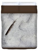 Feather, Shell And Sand Duvet Cover