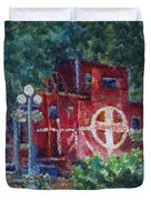 Featherbed Railroad Caboose Duvet Cover