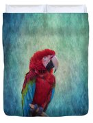 Feathered Friend Duvet Cover