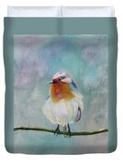 Feathered Friends First In Series Duvet Cover