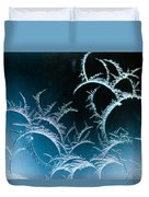 Feathered Frost Duvet Cover