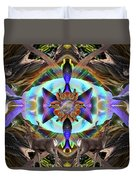 Feathered Nature Duvet Cover
