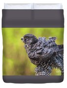 Feathery Friend Duvet Cover