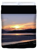 February Sunset Duvet Cover