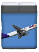 Fedex Express Boeing 757-230 N998fd Phoenix Sky Harbor January 19 2016  Duvet Cover