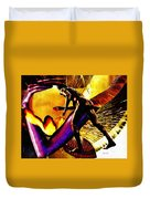 Feeding The Fire Within Duvet Cover by Sarah Loft