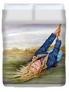 Feelin The Wind Duvet Cover