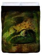 Feeling Froggy Duvet Cover