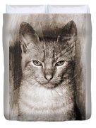 Feline Duvet Cover