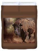 Female Buffalo Duvet Cover