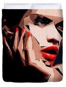 Female Expressions Liv Duvet Cover
