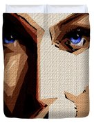 Female Expressions Lvi Duvet Cover