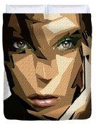 Female Expressions Xliv Duvet Cover